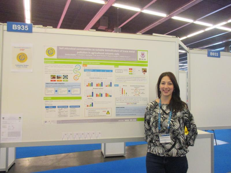 "Carolina Parelho ganhou o prémio ""Young Scientist Travel Award"""