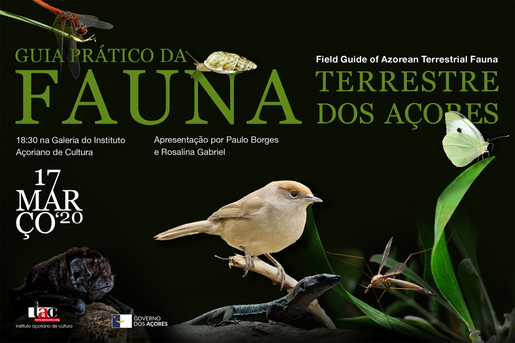 Book: Field Guide of Azorean Terrestrial Fauna